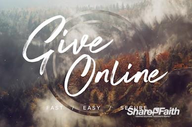 Online Giving Fall Harvest Video Loop