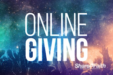 Online Giving Universal Praise Motion Graphic