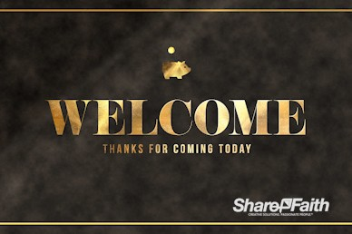 Financial Freedom Welcome Motion Graphic