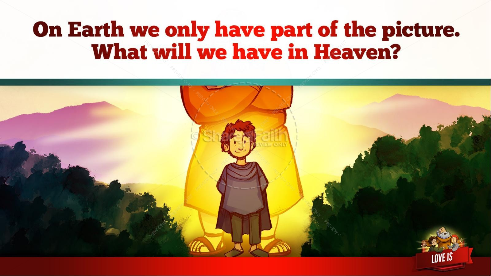 1 Corinthians 13 Love Is Kids Bible Story | slide 31