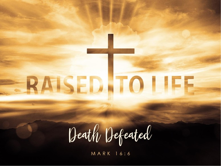 Raised To Life Easter PowerPoint Template