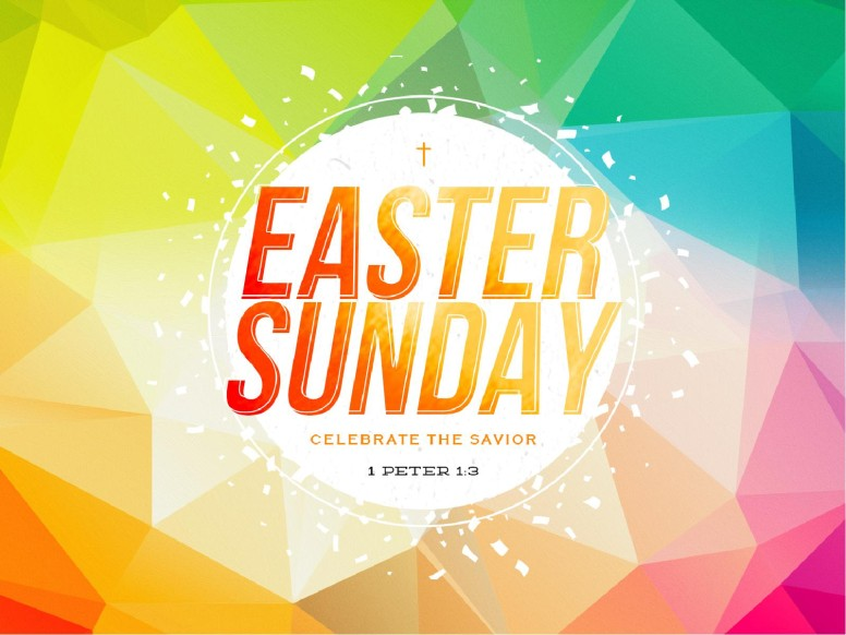 Easter Sunday Service Presentation Template