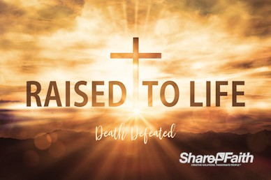 Raised To Life Easter Service Bumper Video