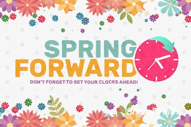 Daylight Saving Time Spring Forward Video Loop