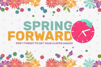 Daylight Saving Time Spring Forward Video Loop
