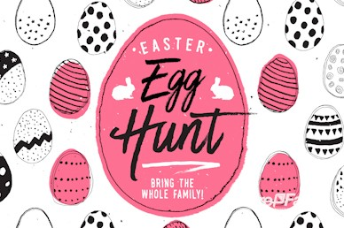 Church Easter Egg Hunt Service Promo Video
