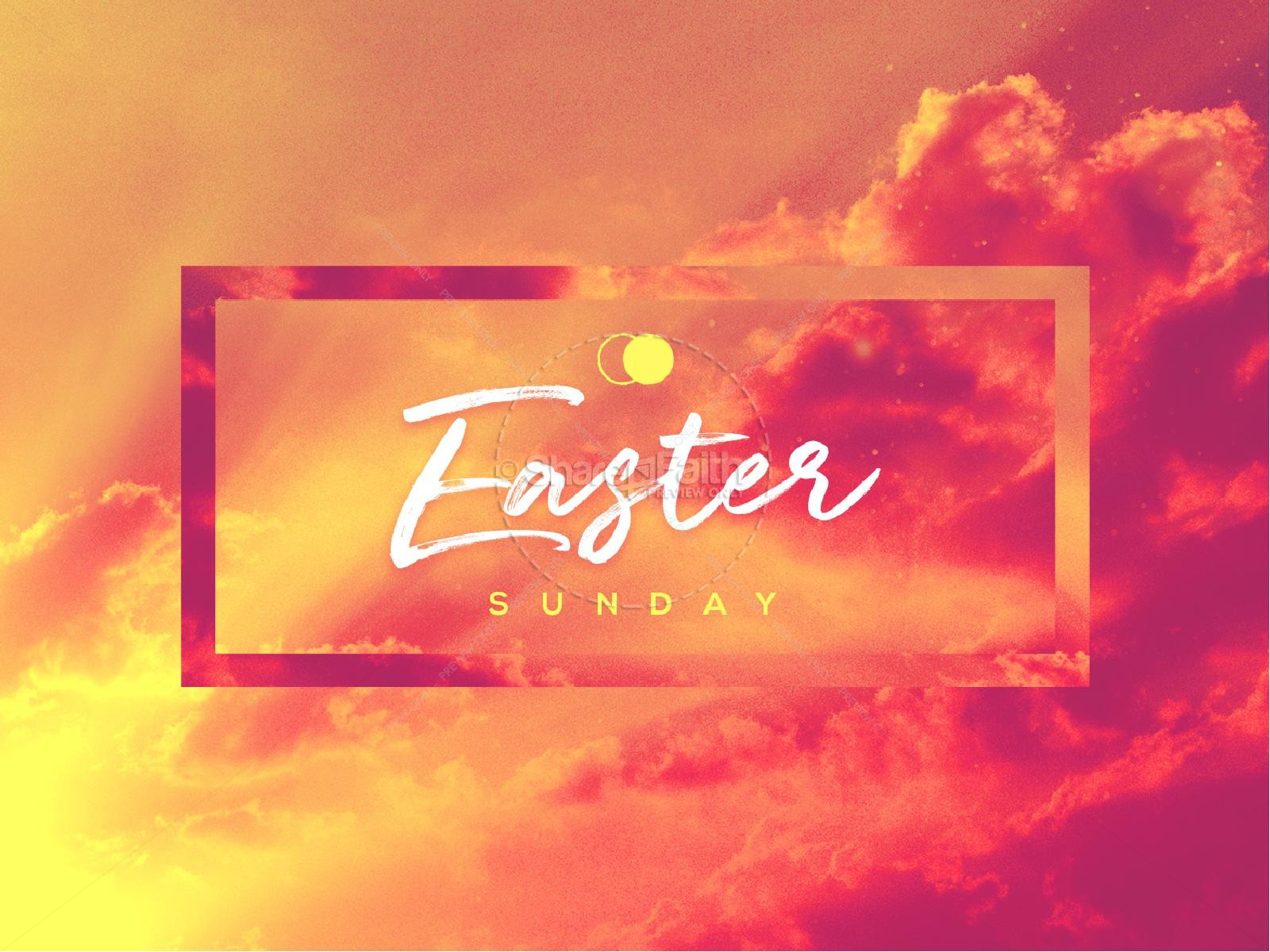 Easter Sunday He Has Risen Sermon PowerPoint