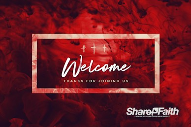 Good Friday It Is Finished Welcome Video Loop
