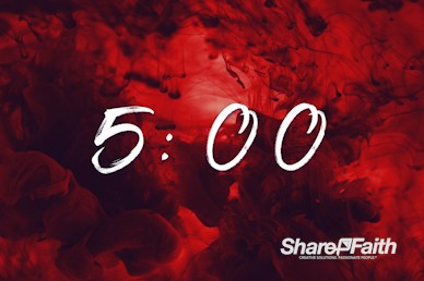 Good Friday It Is Finished Church Countdown Timer