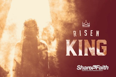 Risen King Easter Church Service Bumper Video