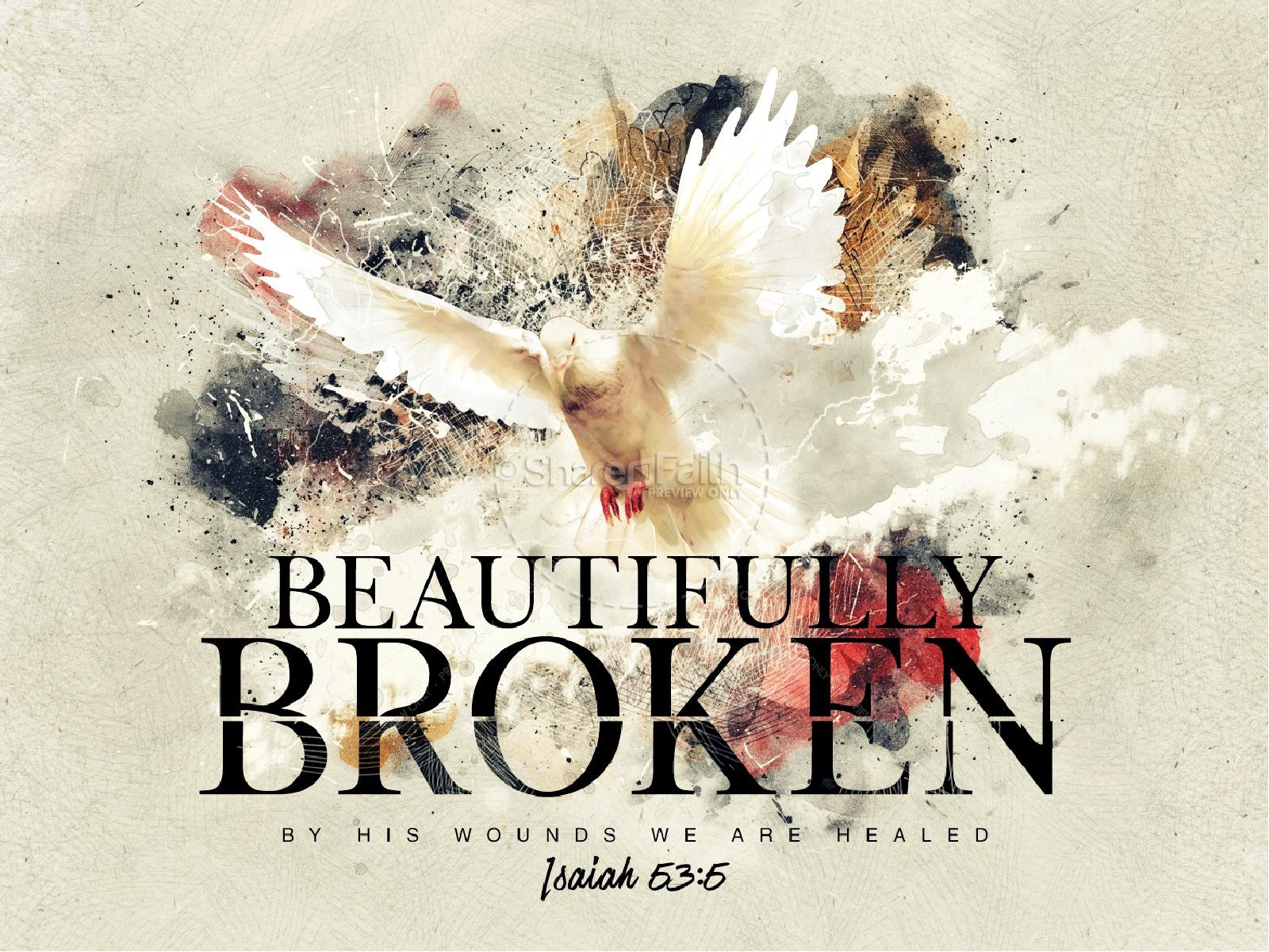 Beautifully Broken Good Friday PowerPoint