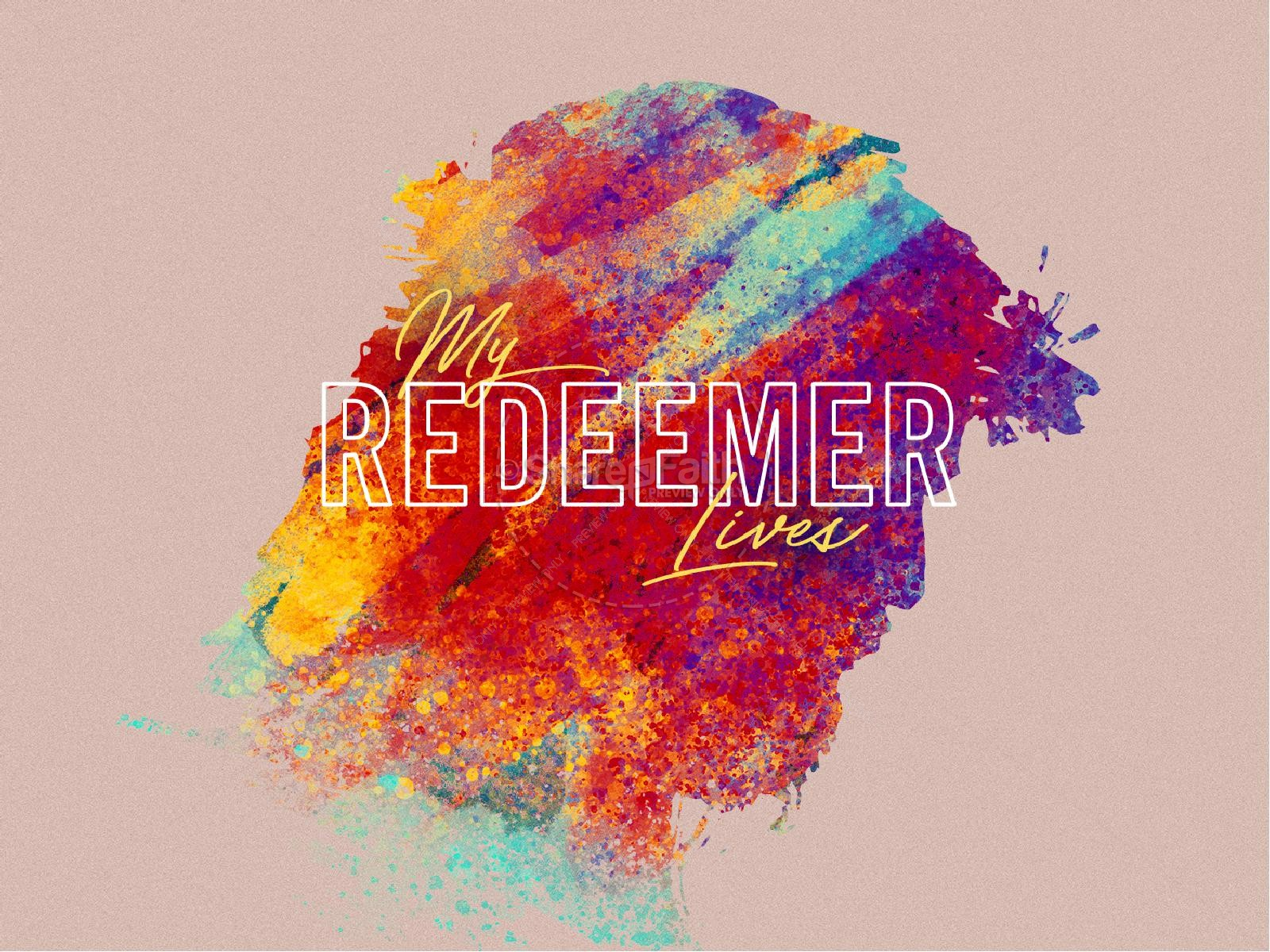 My Redeemer Lives Easter PowerPoint