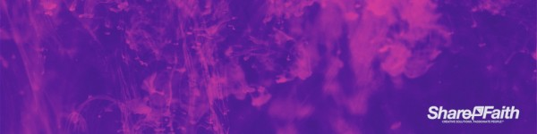 Purple Ink Multi Screen Worship Motion Background