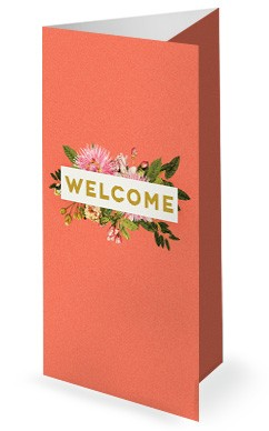 Mother's Day Flower Church Tri Fold Bulletin Cover