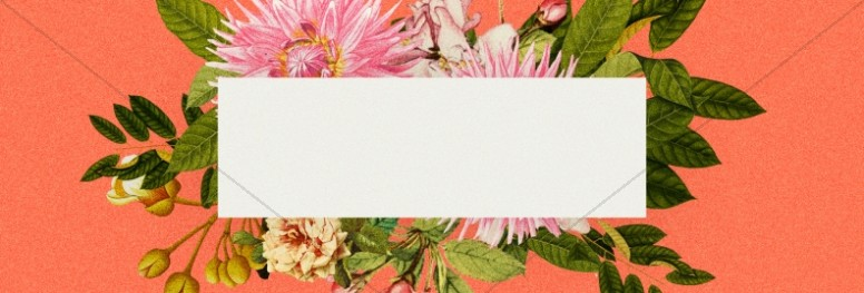 Mother's Day Flower Church Website Banner
