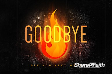 Pentecost Gift Of The Holy Spirit Goodbye Motion Graphic