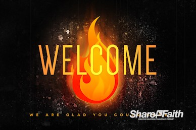 Pentecost Gift Of The Holy Spirit Welcome Motion Graphic