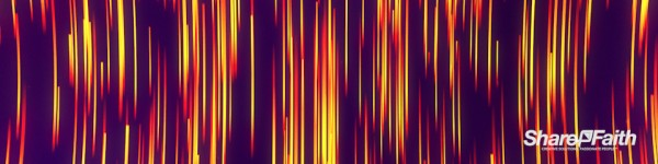Descending Abstract Lines Triple Wide Worship Motion Background
