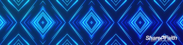 Abstract Lines Multi Screen Pattern Worship Motion Background