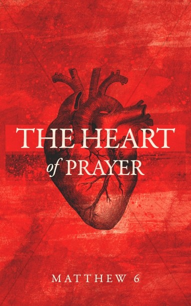 The Heart Of Prayer Church Bulletin Cover