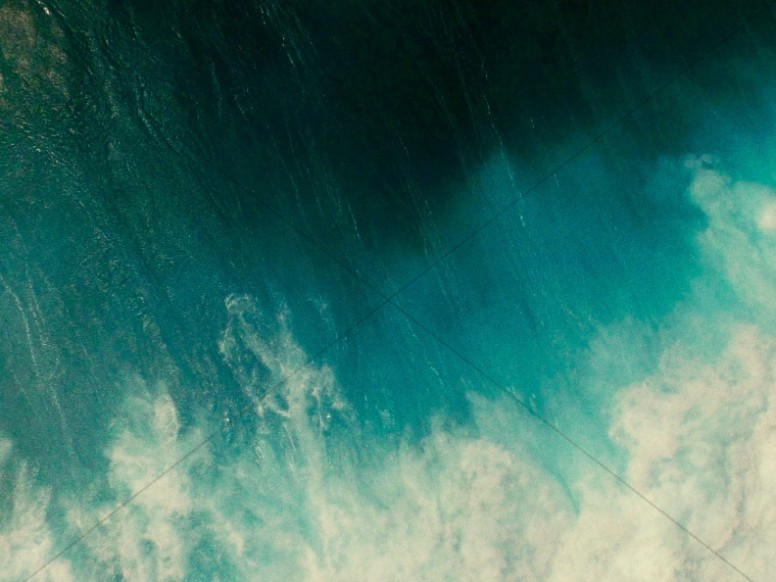 Vintage Ocean Worship Background