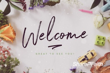 Celebrating Mother's Day Welcome Motion Graphic