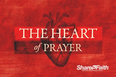 The Heart Of Prayer Church Motion Graphic