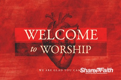 The Heart Of Prayer Welcome Motion Graphic