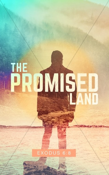 The Promised Land Church Bulletin Cover