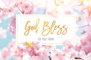 Mother's Day Cherry Blossom Goodbye Motion Graphic