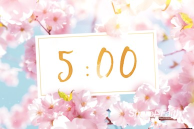 Mother's Day Cherry Blossom Church Countdown Video