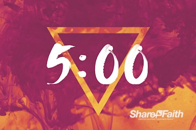 Pentecost Sunday Church Countdown Timer