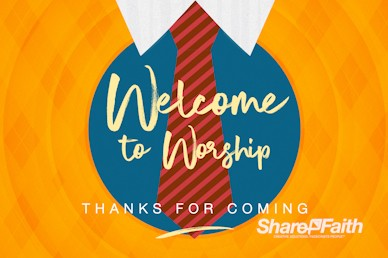 Happy Father's Day Argyle Welcome Motion Graphic