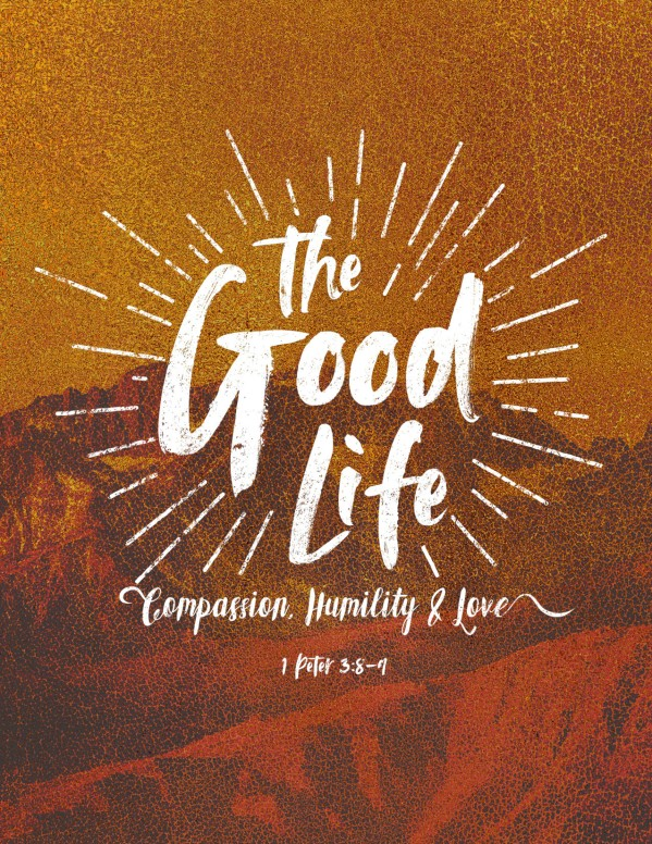 The Good Life Church Flyer Template