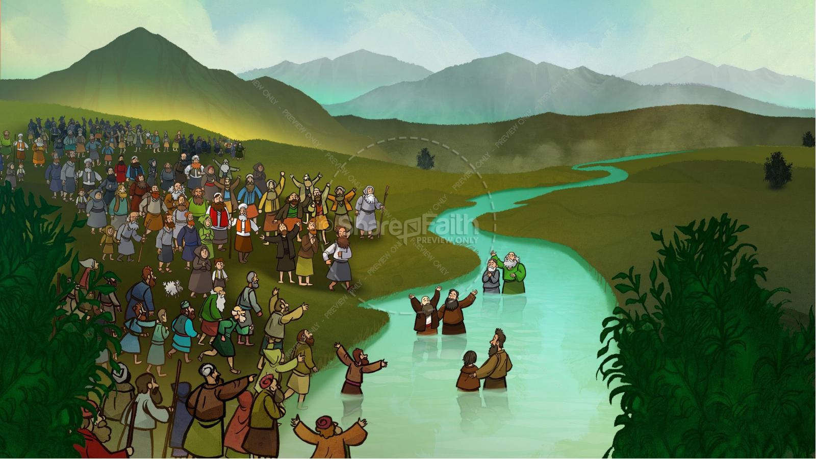 Acts 2 The Holy Spirit Comes Kids Bible Story | slide 8