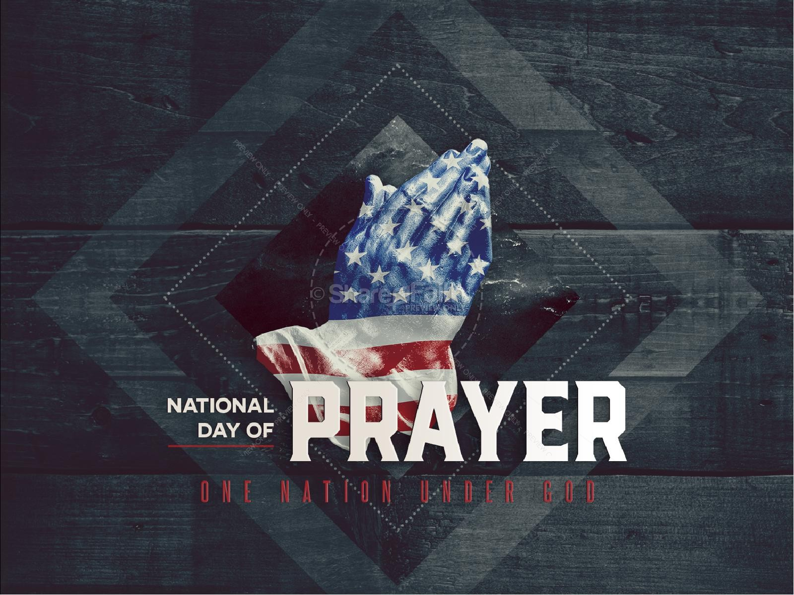 National Day Of Prayer PowerPoint Template