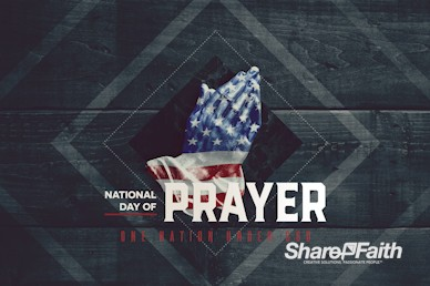 National Day Of Prayer Church Service Bumper Video