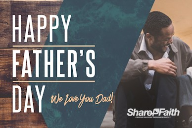 Father's Day Father & Son Church Service Bumper Video