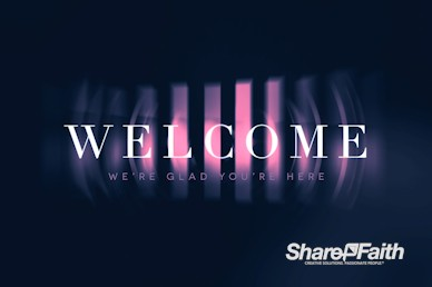 Prodigal Son Church Welcome Motion Graphic
