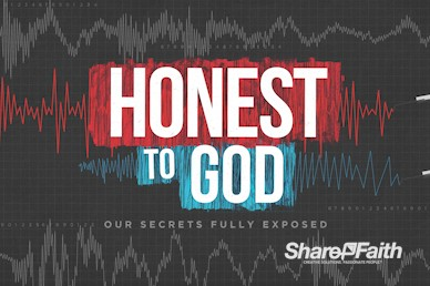 Honest To God Sermon Intro Motion Graphic