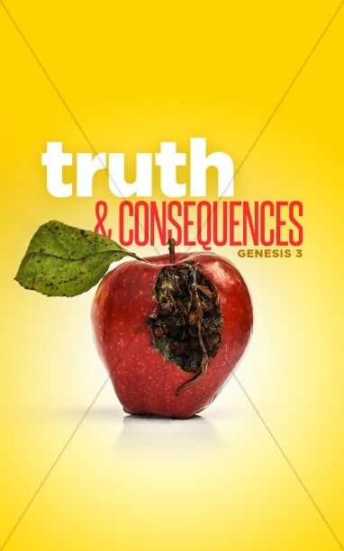 Truth & Consequences Church Bulletin Cover
