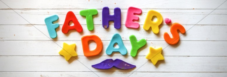 Father's Day We Love You Dad Church Website Graphic