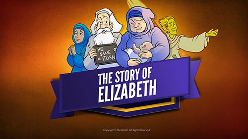 Luke 1 The Story of Elizabeth Bible Video for Kids