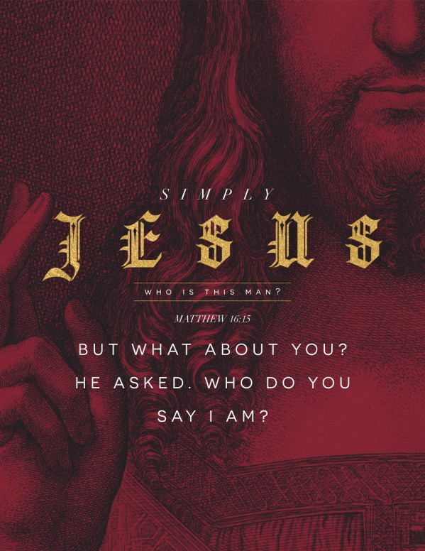 Who Is Jesus Christ Church Flyer Template