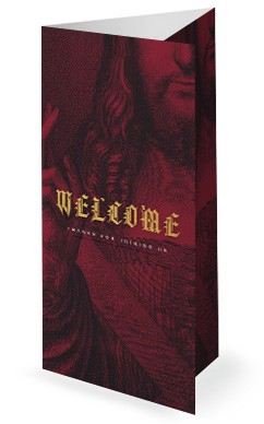 Who Is Jesus Christ Church Trifold Bulletin Cover