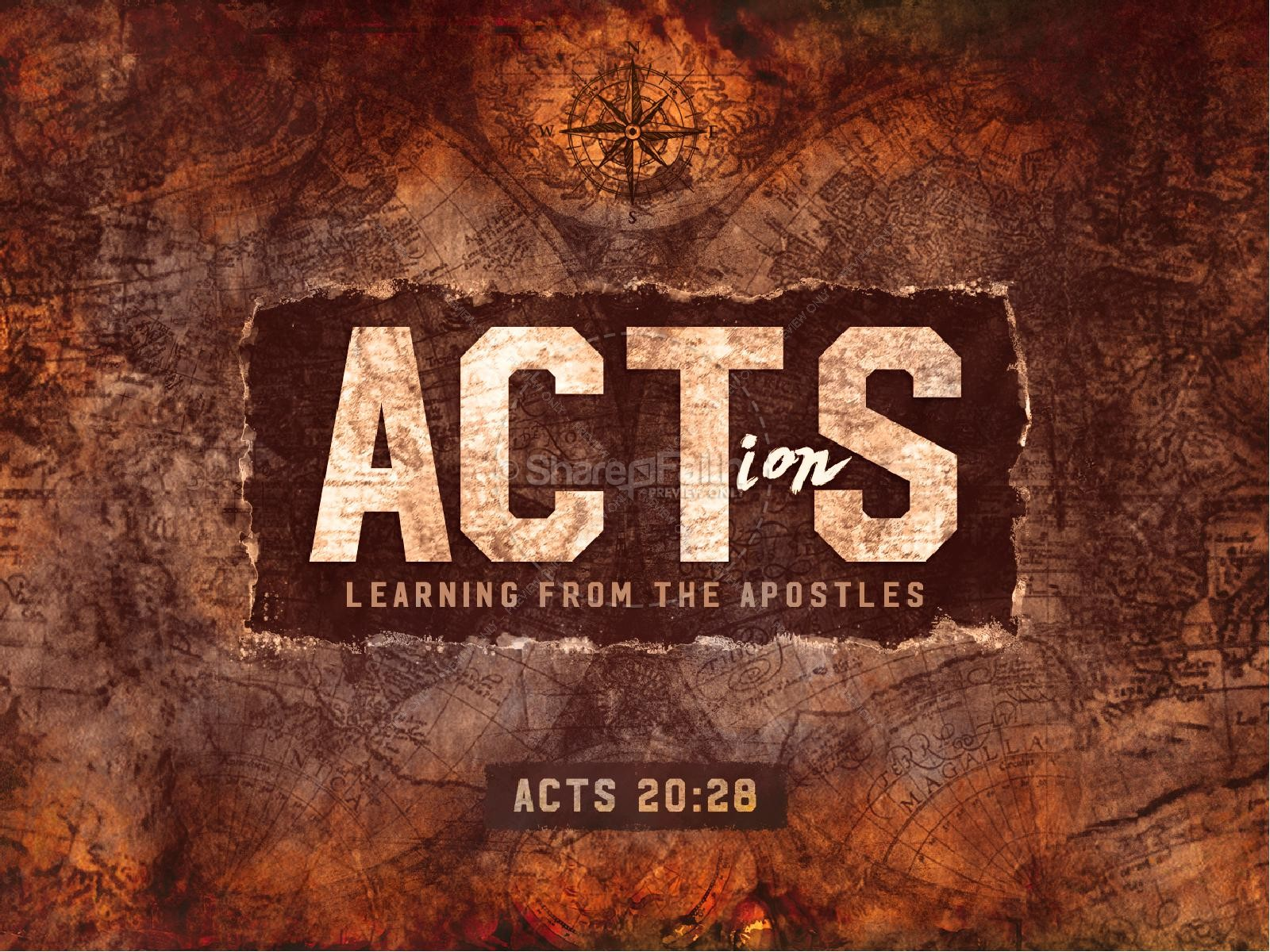 Acts Of The Apostles Sermon PowerPoint