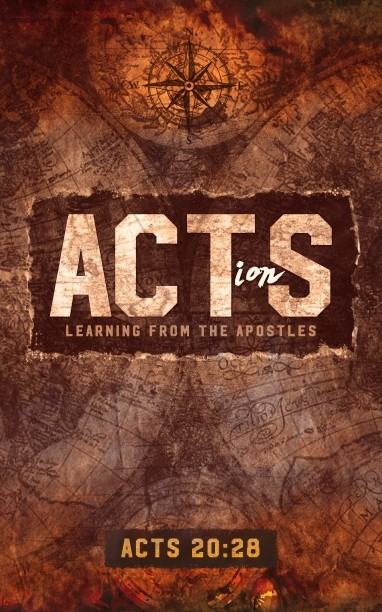 Acts Of The Apostles Church Bulletin Cover
