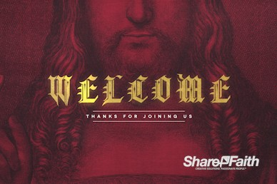 Who Is Jesus Christ Welcome Motion Graphic