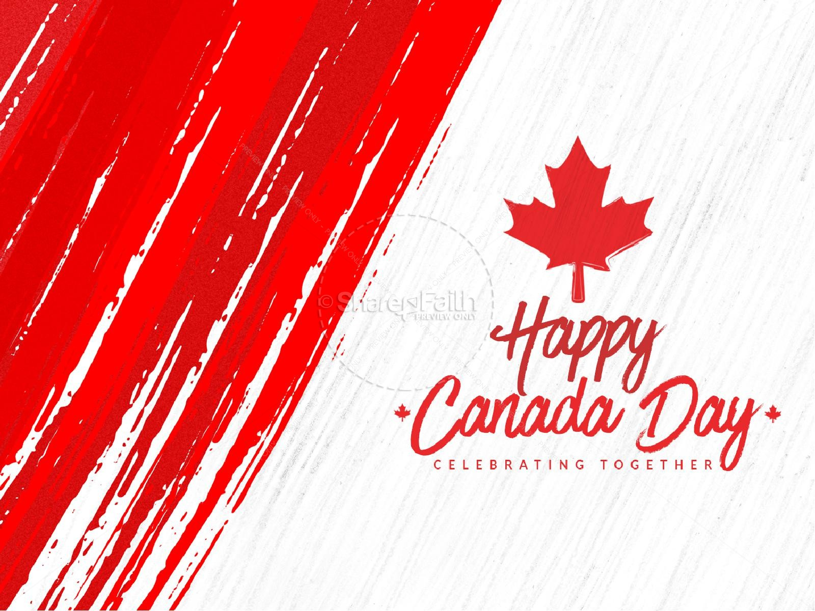 Canada Day Sermon PowerPoint Template