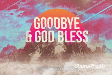 Unshakeable Faith Goodbye Motion Graphic